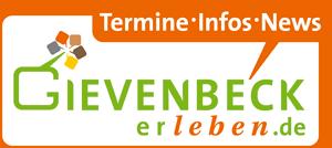 Logo vonGievenbeck(er)leben mit Schriftzug: Termine, Infos, News